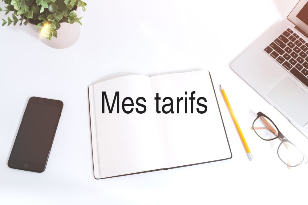 Mes tarifs